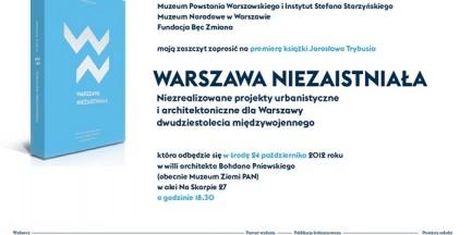 Za darmo: Warszawa Niezaistniała - ciąg dalszy