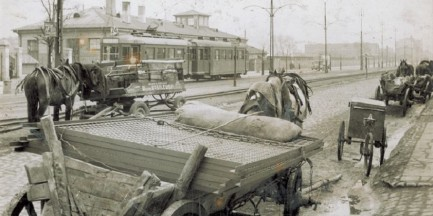 90 lat temu przez Grochowską przejechał pierwszy tramwaj