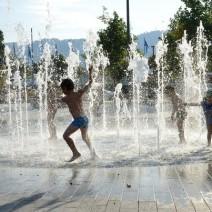 Niebezpieczne kąpiele w fontannach. W wodzie zwierzęcy mocz, sinice i glony