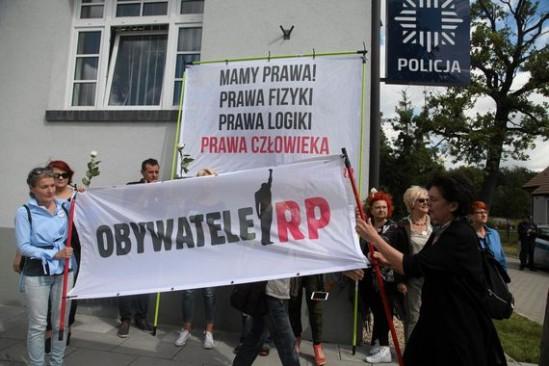 Protest Obywateli RP. Fot. Mieczysław Michalak/Agencja Gazeta