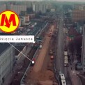 Budowa stacji Księcia Janusza. Źródło: YT