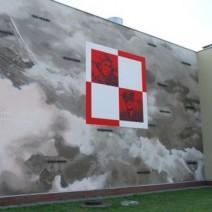 Hołd dla polskich lotników. Na Gocławiu powstał nowy mural