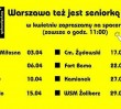"""Za darmo: """"Warszawa też jest seniorką"""""""