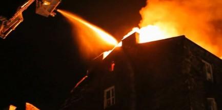 Kolejny pożar na Pradze