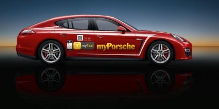 Za darmo: Porsche zamiast taksówki!