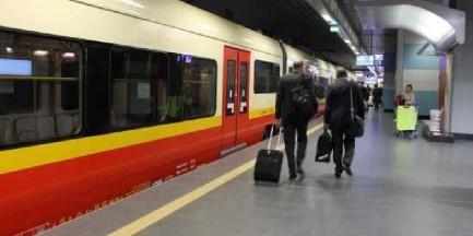 W sobotę wieczorem pociągi nie dojadą na lotnisko