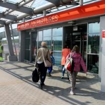 Modlin: 1,5 mln obsłużonych pasażerów od początku 2014 roku.