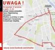 Weekend na warszawskich drogach: NightSkating, remonty i frezowania