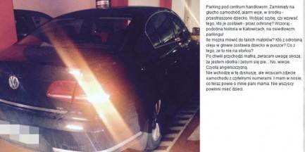 Znana dziennikarka zobaczyła auto z dzieckiem zamkniętym w środku. Próbowała reagować - została wyzwana od idiotek
