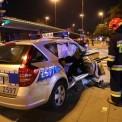 Wypadek z udziałem Biura Ochrony Rządu Fot. PAP/Rafał Guz