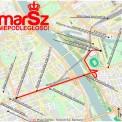 Trasa Marszu Niepodległości /fot. mat. prasowe