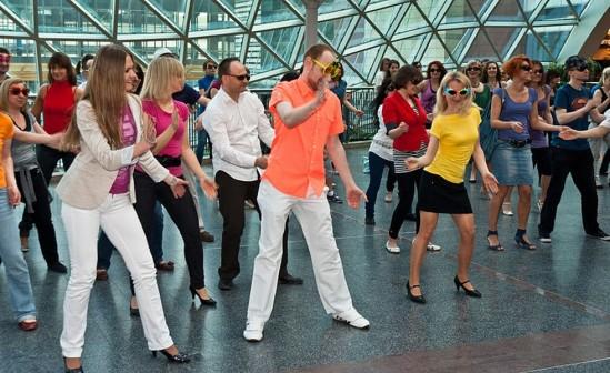 Inny flashmob, fot. Wiki.