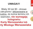 Gdzie wyrobić Kartę Warszawiaka przed nowym rokiem?