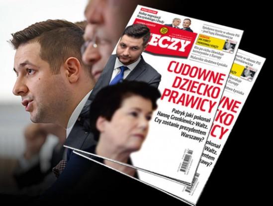 """Najnowsza okładka tygodnika. Fot. """"Do Rzeczy"""""""