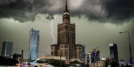 Alert pogodowy. Gwałtowne burze, grad oraz porywisty wiatr