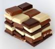 Palma z czekolady stanęła na rondzie de Gaulle'a...