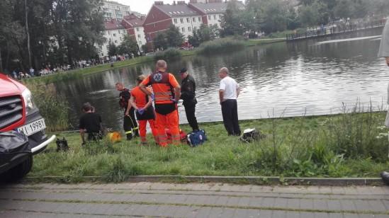 Tragiczny finał akcji ratunkowej Fot. WawaLove.pl