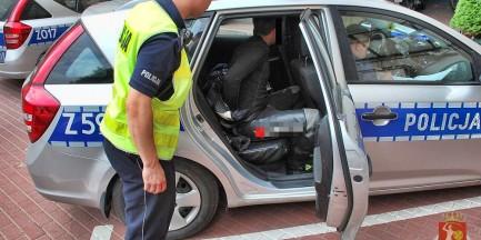 Uciekał przed policją na motocyklu!