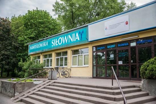 Teren ośrodka przy Namysłowskiej. Fot. Na_prawa Warszawa/fb