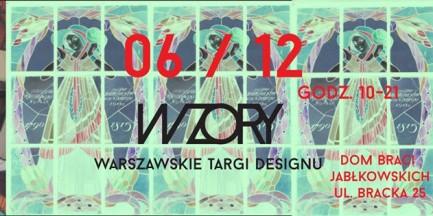 WZORY - kolejna edycja Warszawskich Targów Designu