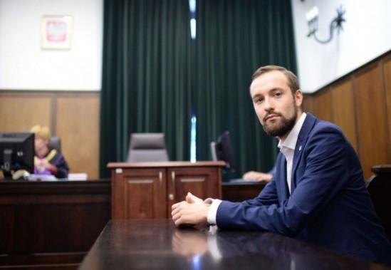 Marek Tatała podczas rozprawy apelacyjnej w Sądzie Okręgowym w Warszawie. Fot. PAP/Jacek Turczyk