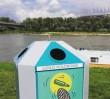 Wymień śmieci na wodne atrakcje lub drewno