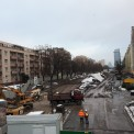 Budowa II linii metra na Woli. Fot. Renata Kaznowska/Twitter