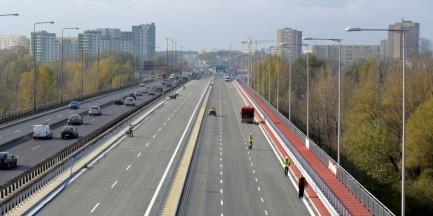 Otwierają most Grota-Roweckiego i odcinek Trasy AK