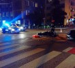 Wypadek na Tamce. Porsche zderzyło się z motocyklem