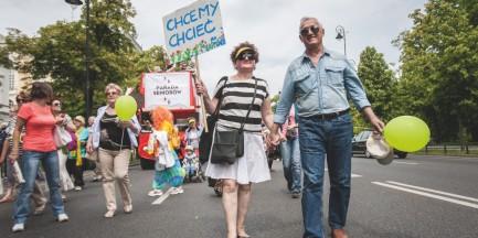 Seniorzy środkiem ulicy! Wkrótce Parada Seniorów 2015