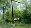 Miejsce, w którym Niemcy powieśili akowców. Teraz jest zaniedbane i opuszczone