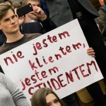 """Będzie ciąg dalszy """"niedemokratycznego procesu przyjęcia regulaminu"""" na UW"""