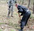 Ponad 150 granatów w lesie pod Warszawą