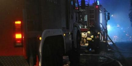 Tragiczny pożar na Bemowie. Dwie osoby zginęły w altance.
