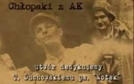 Warszawskie chłopaki z AK (WIDEO)