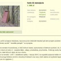 """Studentka umieściła w sieci nietypowe ogłoszenie. """"Warunki wynajmu mieszkań w Warszawie są kosmiczne"""""""