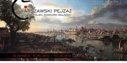 """Ogólnopolski Konkurs Malarski """"Warszawski Pejzaż"""""""