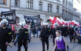 Żenujący marsz ONR-u!