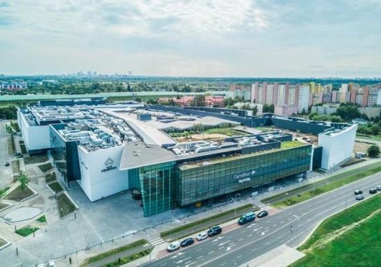 Galeria Północna będzie pierwszym wielkopowierzchniowym centrum handlowym w północnej części Warszawy Fot. mat. prasowe