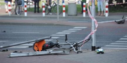 """Wzruszający gest rowerzystów po wypadku na Gocławiu. Powstał """"duch roweru"""""""