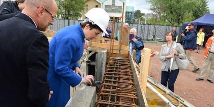 Rośnie nowa szkoła podstawowa w Miasteczku Wilanów