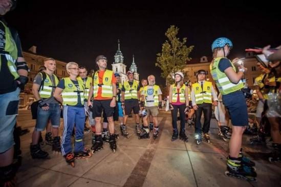 Fot. Nightskating Warsaw FB