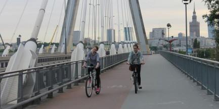 Warszawa w Europejskiej Rowerowej Rywalizacji