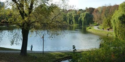 II Kręta Piątka w parku Moczydło