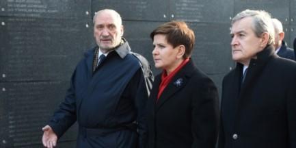 Nowy rząd z wizytą w Muzeum Powstania Warszawskiego