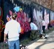 Mur toru służewieckiego do remontu