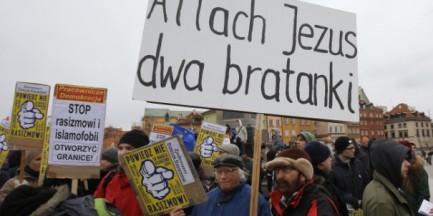 """Ulicami stolicy przeszedł marsz """"Powiedz Nie Rasizmowi"""""""