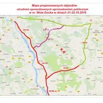 Protest na DK 17. Utrudniony dojazd do Warszawy [MAPA]