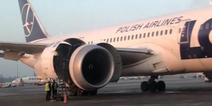 Awaria samolotu lęcącego z USA do Warszawy. Wyciek oleju z silnika