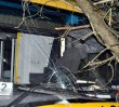Pijany kierowca autobusu wjechał w drzewo!